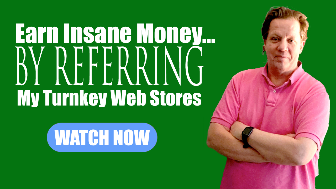 Earn huge by selling my web stores